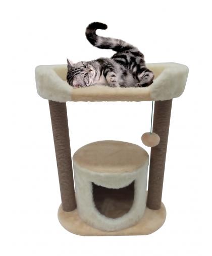Дом для кота с лежанкой  (Арт-3)