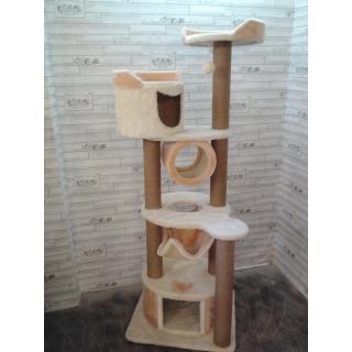 Комплексы для кошек с двумя домиками