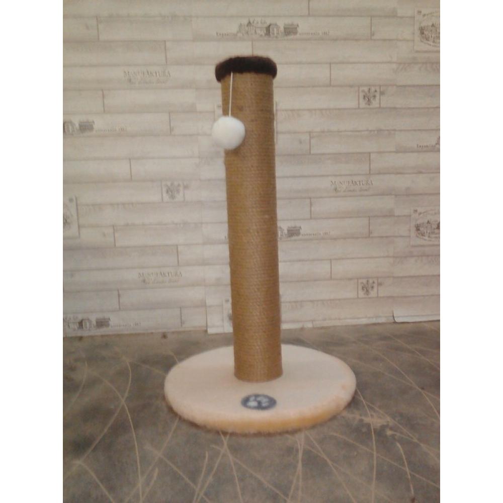 Когтеточка-столбик с основанием и шариком