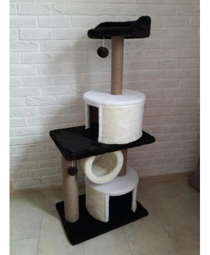 Два домика для кошек с тоннелем (Арт-0011)