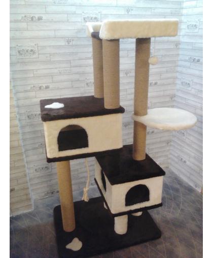 Домики для больших кошек с гамаком и лежанкой (Арт-0008)