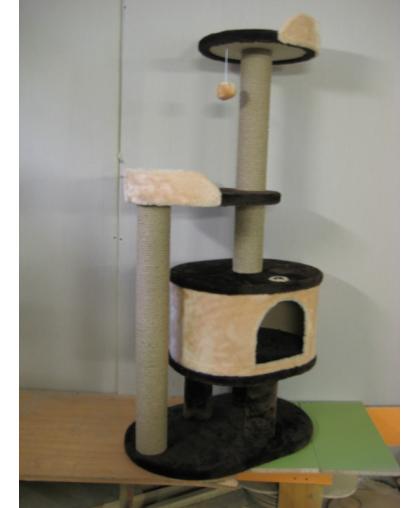 Комплекс для кошек с домиком и лежанками (Арт-1515)