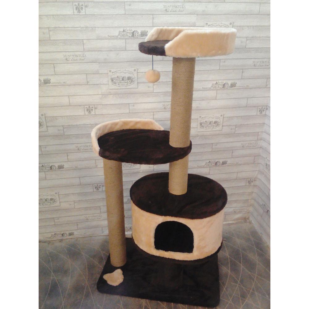 Дом-лежанка для кошек высотой 130 см