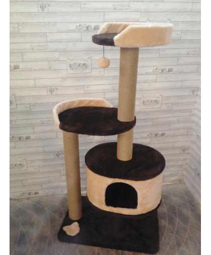 Дом-лежанка для кошек высотой 130 см (Арт-2515)