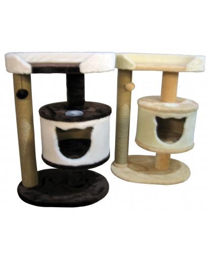 Мини-комплекс с домиком, когтеточкой и лежанкой (М30)
