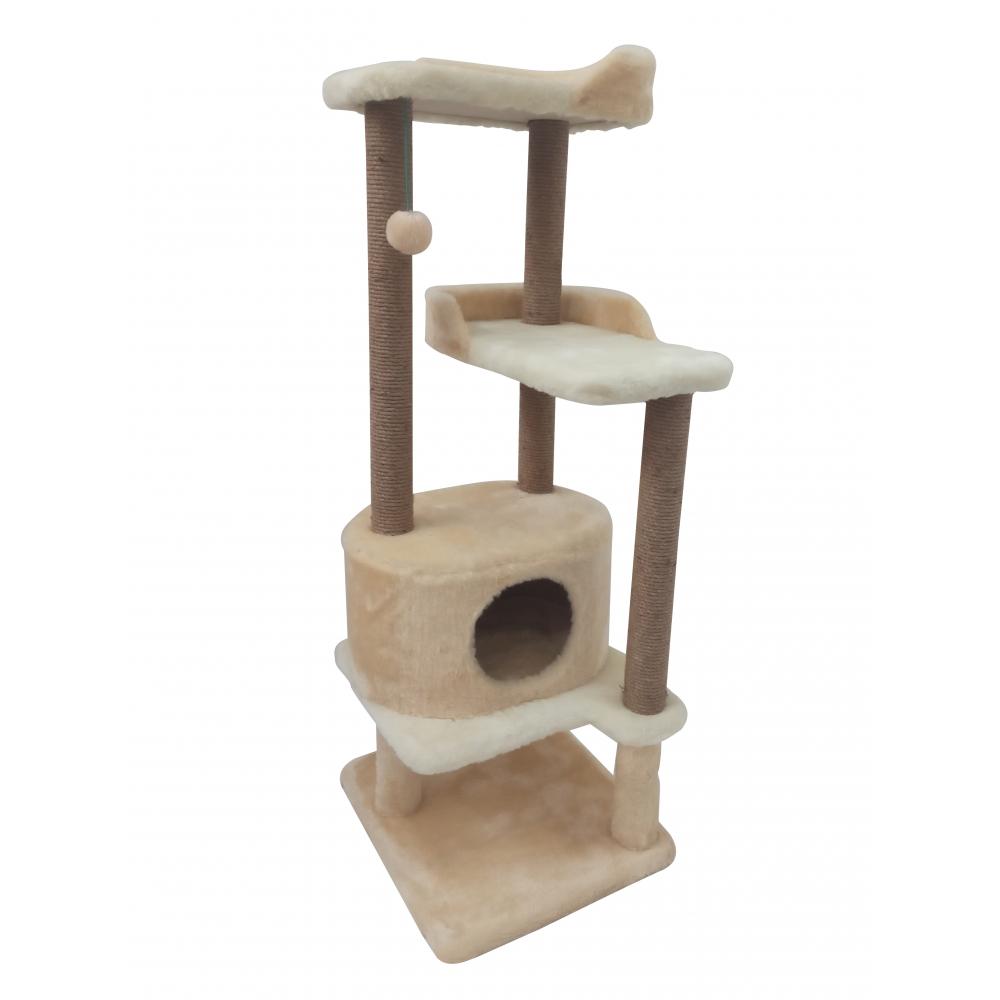 (Арт-214) Игровой многоярусный комплекс с когтеточками  для кошки