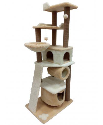 Комплекс игровой с двумя домиками (Зоополюс-248)