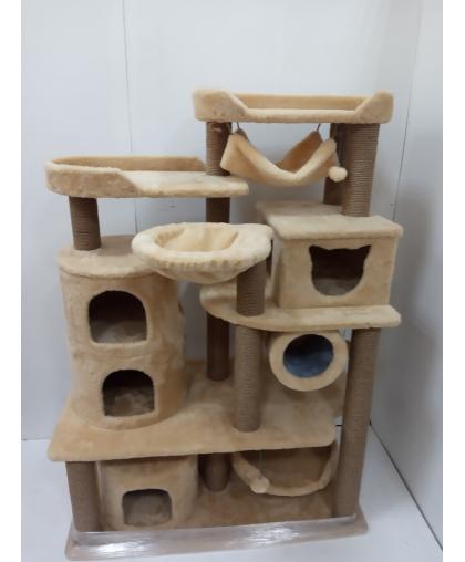 (ЗООПОЛЮС-422) Многоуровневый городок для нескольких кошек