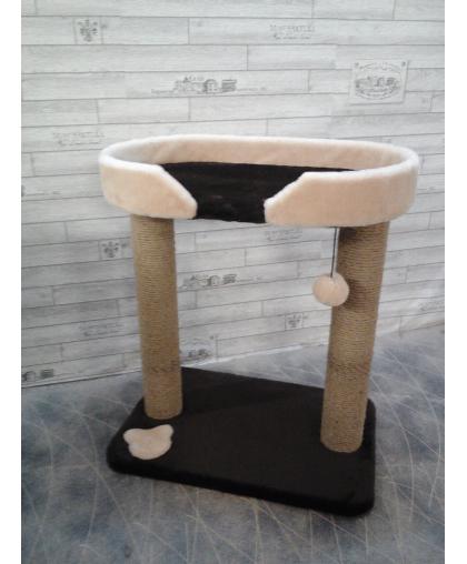 Игровая площадка когтеточка с удобным спальным местом (Арт-302)