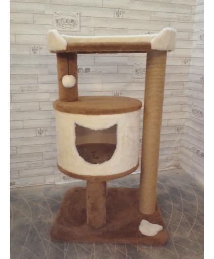 Домик с когтеточкой и лежанкой для кошек (Арт-20)