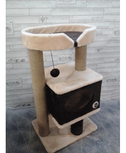 Домик с основой и лежанкой для кошек (Арт-300)