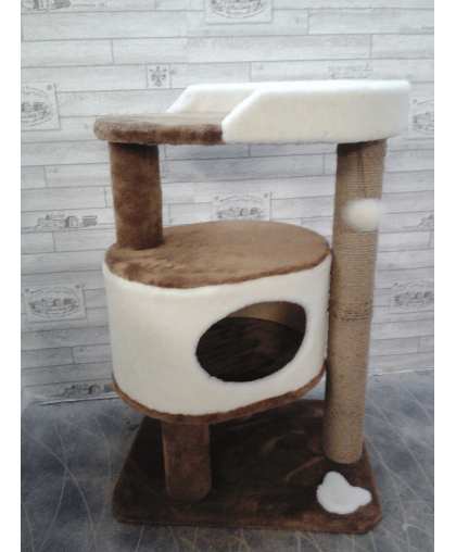 Домик с площадкой и игрушкой (Арт-301)