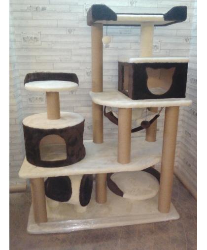 Комплекс для одной или нескольких кошек крупных пород (Арт 022)