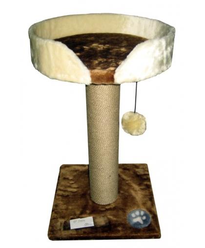 Лежанка с когтеточкой (Арт-1029)