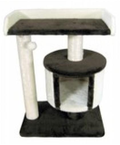 Домик с лежанкой и джутовой когтеточкой для кошек (Арт-30)