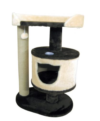 Домик с лежанкой для кошек высотой 80 см (Арт-31)