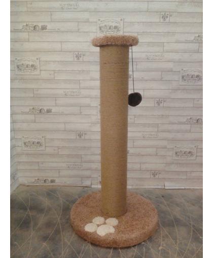 Столб когтеточка мощный для кошек (Арт-901)