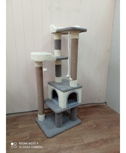 Комплекс для кошки многоуровневый (Арт-502) ковролин