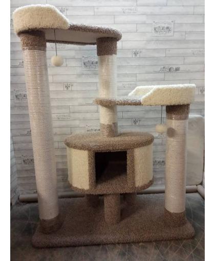 Мощный ковролиновый комплекс для всех пород кошек (Арт-132)