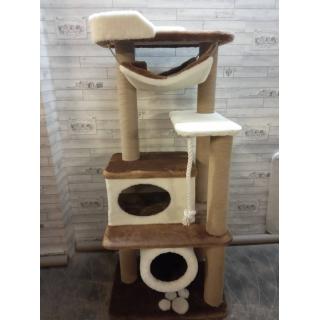 Домики для кошек с когтеточками