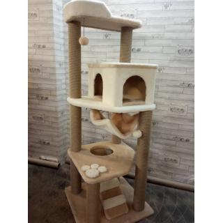Комплексы для кошек с когтеточками и домиками