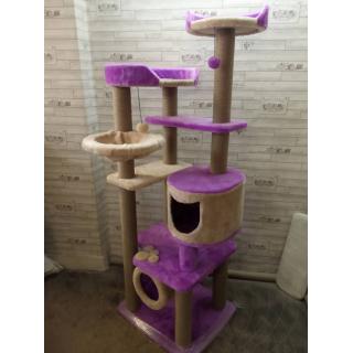 Комплексы для кошек ковролиновые