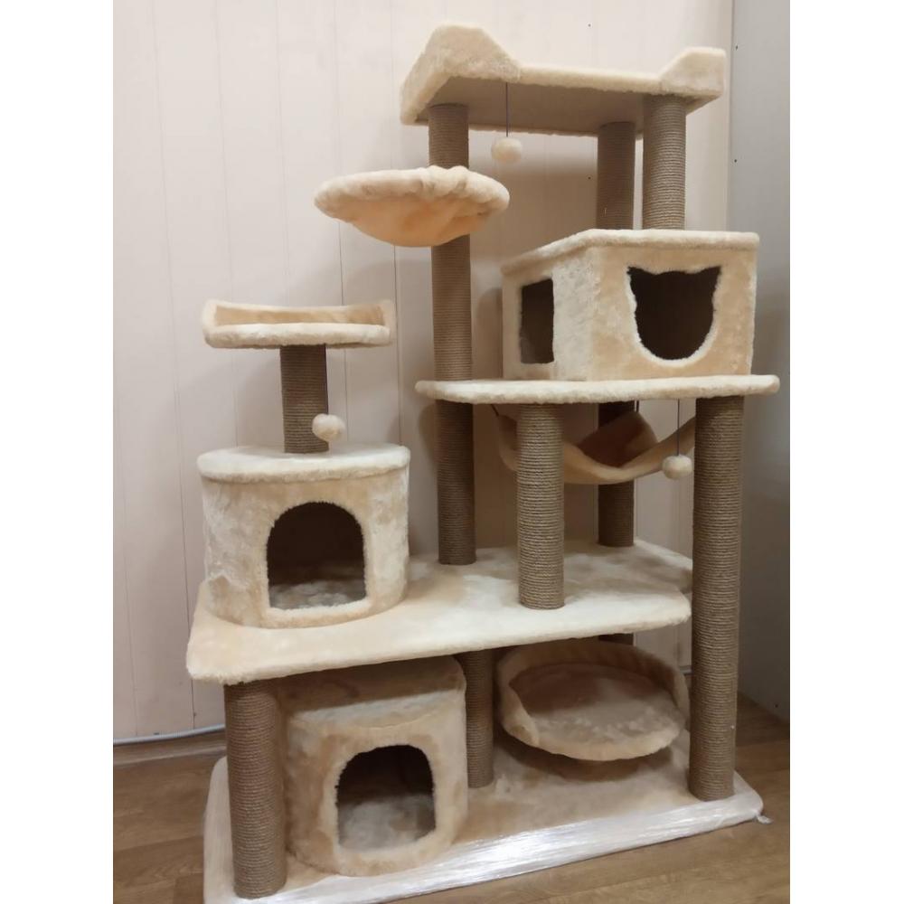 Большой игровой комплекс для нескольких кошек (Арт-22)