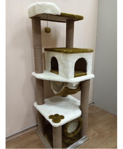 ЗООПОЛЮС-143 Комплекс с когтеточками для кошки