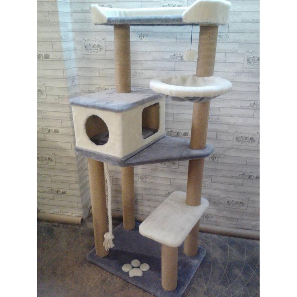 Игровой комплекс для кошек всех пород с уровнями