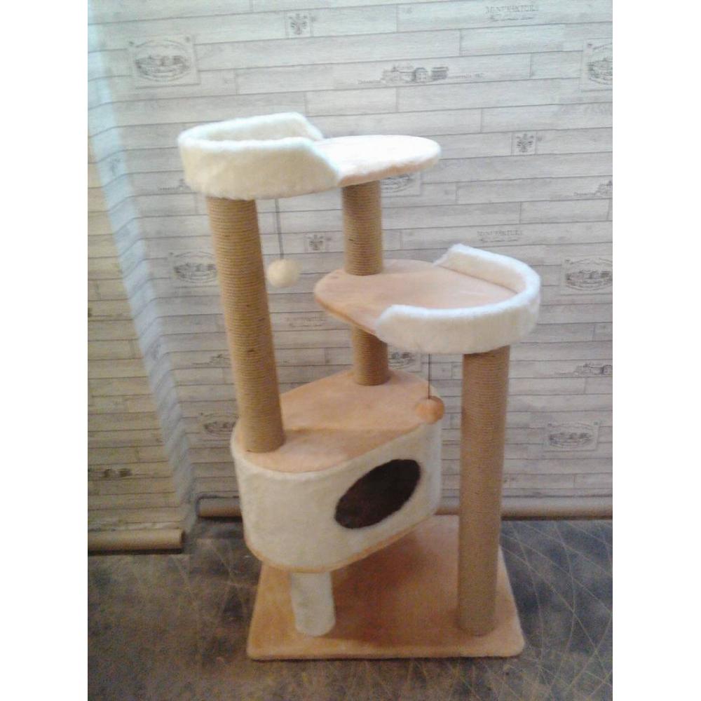 Домик для котов с двумя лежанками